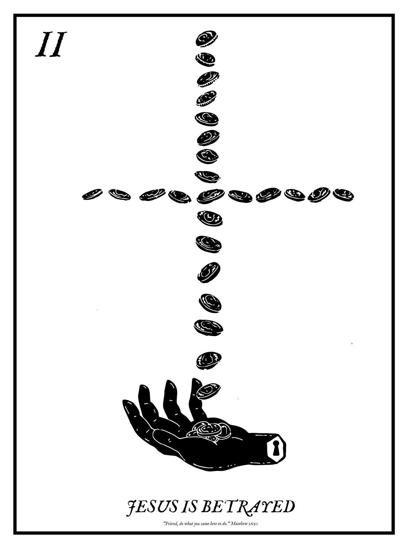 II. JESUS IS BETRAYED